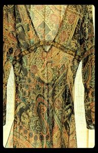 Sheer vintage inspired tunic/dress